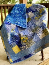 Quilt made for a friend! So Spring-like!
